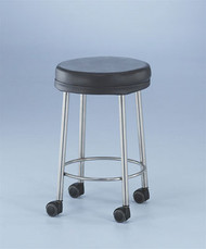 "Non-Magnetic Seated Stool (23"", casters)"
