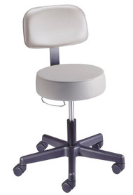 Value Plus Pneumatic Stool with Backrest