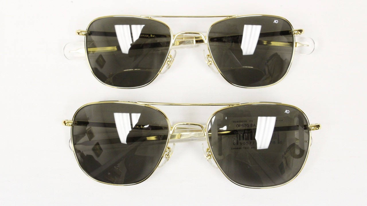 American Optical Original Pilot s Sunglasses - Mickey s Surplus 57ce0cebb52f