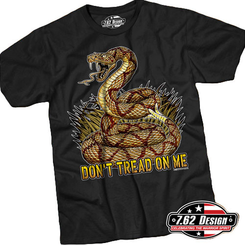 9b00ab53a 7.62 Design Don't Tread on Me T-Shirt Black - Mickey's Surplus