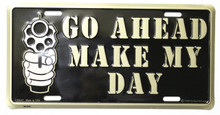 Make my Day License Plate