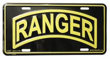 Army Ranger License Plate