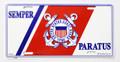 Semper Paratus License Plate