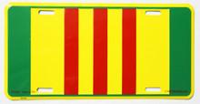 Vietnam Service License Plate