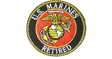US Marines Retired Patch