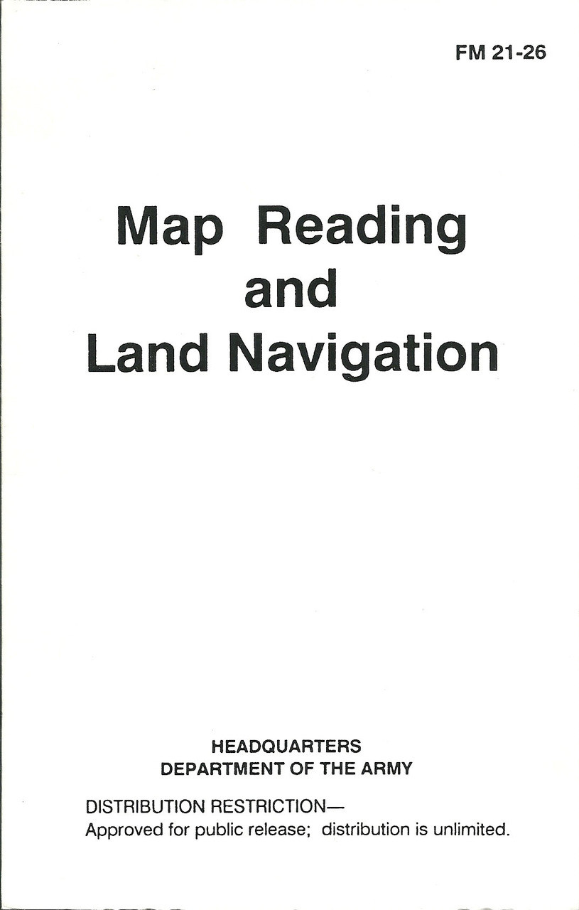 Map Reading and Land Navigation - Mickey's Surplus on
