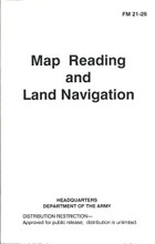 Map Reading Army Field Manual