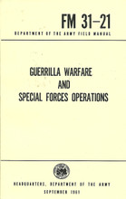 Guerrilla Warfare Army Field Manual