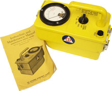 Victoreen Radiological Survey Meter