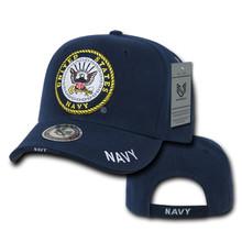 Navy Logo Ball Cap