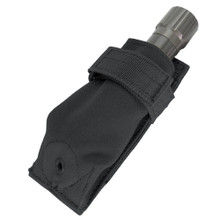 Black Tactical Flashlight Holder