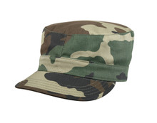 Rothco Woodland Rip-Stop Fatigue Cap
