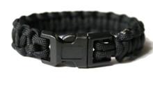 Black Paracord Bracelet