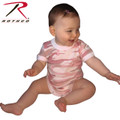Rothco Infant Camo One-piece Pink Camo