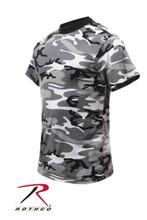 Kids Urban Camo T Shirt