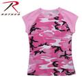 Rothco Women's Pink Camo Raglan T Shirt