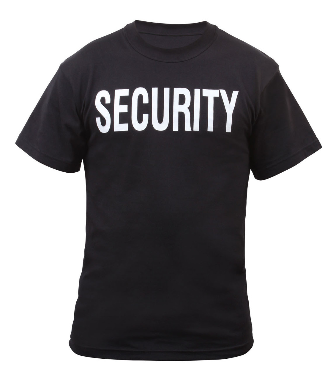 0a5114956 2 Sided Security T-Shirt - Mickey's Surplus