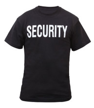 2 Sided Security T Shirt