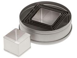 Plain Square Cutter Set