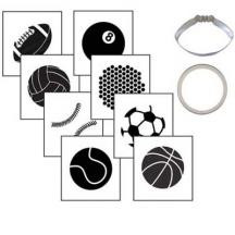 Sports Ball Cookie Cutter Set
