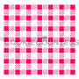 "Overall stencil size approximately 5.5"" x 5.5"". PINK sections in image are the open sections. Stencils are 5mil Food Grade plastic, washable and reusable."