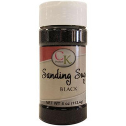 Black Sanding Sugar 4oz