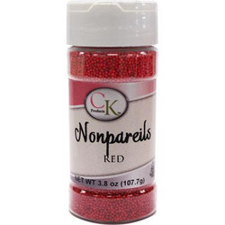 Red Nonpareils