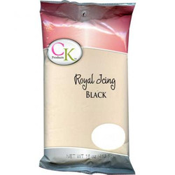 Black Royal Icing
