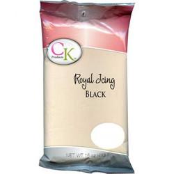 Black Royal Icing