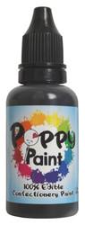 Black Poppy Paint