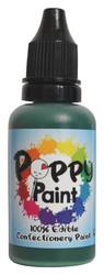 Green Poppy Paint