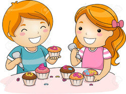 This is a Kid's class. Recommended age is 12 and under, but any age is welcome! I will show your kids step by step how to decorate cupcakes. All supplies provided....and lots of extra sprinkles!  Parents are also welcome to take the class with their child. A separate spot will need to be purchased as space is limited.