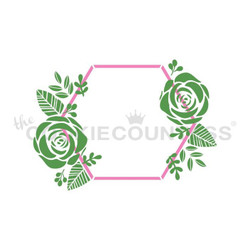 Hexagon & Flowers 2pc