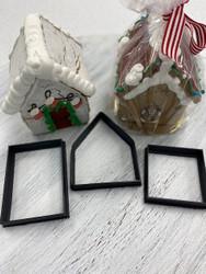 Mini Gingerbread House Cutter Set