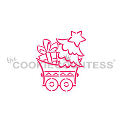 Christmas Train Tree Car