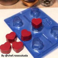 Tiny Plain Heart  (5 Cavity)