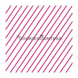 Diagonal Thin Stripe 2