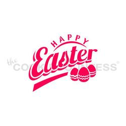 Happy Easter w/ Eggs