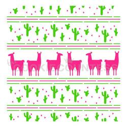 Llama & Cactus 2 Piece