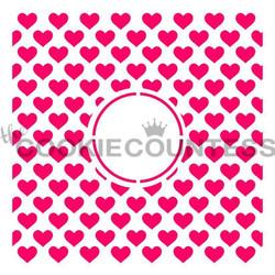 Hearts Monogram