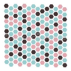 Hexagon 3 Piece