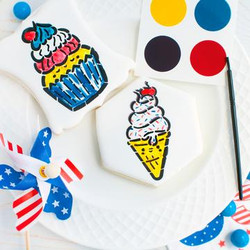 4th of July Paint Palette