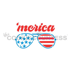 Merica Sunglasses 2 Pieces