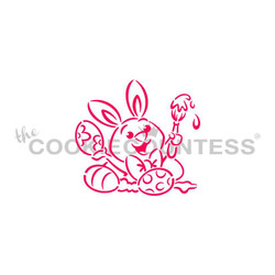 Bunny Painting Eggs PYO