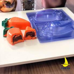 Carrot 3 Piece Mold