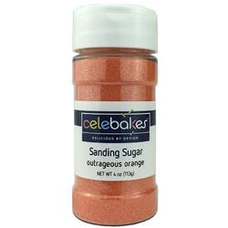 Outrageous Orange Sanding Sugar