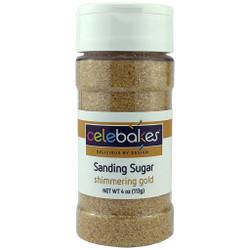 Shimmering Gold Sanding Sugar