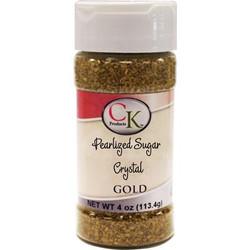 Gold Pearl Sugar Crystals