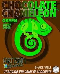 Green Chameleon Candy Color