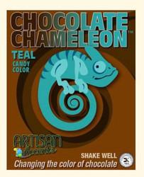 Teal Chameleon Candy Color